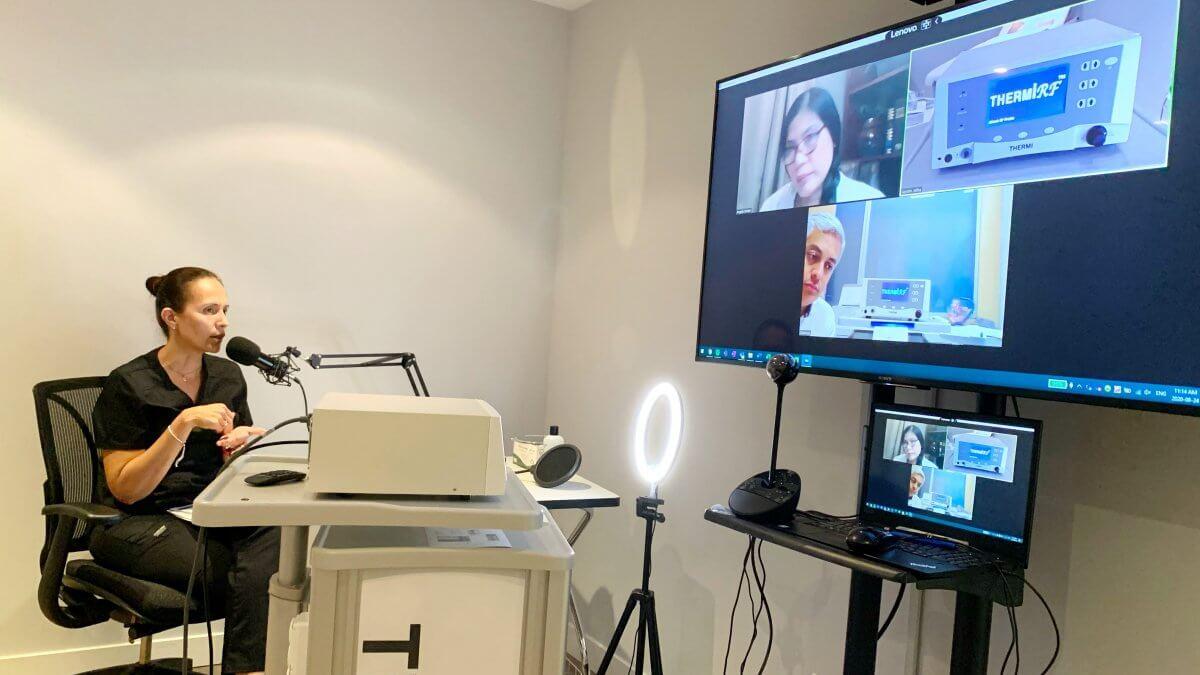 RxBIO Providing Thermi training virtually